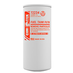 Particulate Removal Bio-Fuel Filter